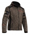 Lindstrands Woolly Jacket Brown / Black