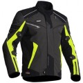 HALVARSSONS HERCULES  MOTORCYCLE JACKET HV YELLOW