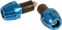 GEAR GREMLIN TAPERED BAR END BLUE