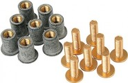 Gear Gremlin Screen Screw Kit Gold