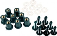 Gear Gremlin Screen Screw Kit Black