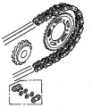 Genuine Honda Chain & Sprocket Kit 06406MALG02