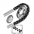 Genuine Honda Chain & Sprocket Kit 06406MBZ611